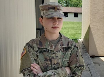 Ohio's First Female Infantry Officer on COVID-19 Front Lines