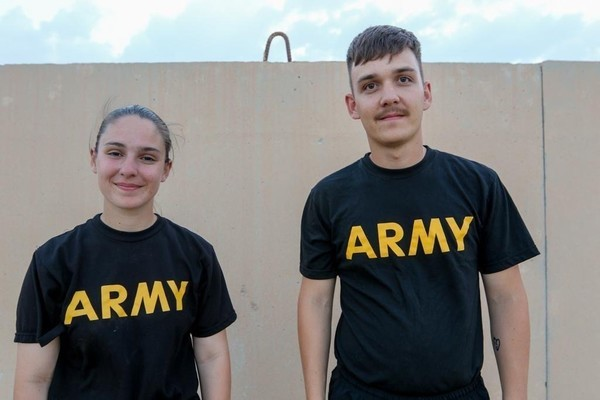 North Carolina National Guard Sibling Soldiers Reunite on Deployment