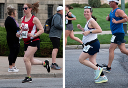 Guard Marathoners Compete While Expecting
