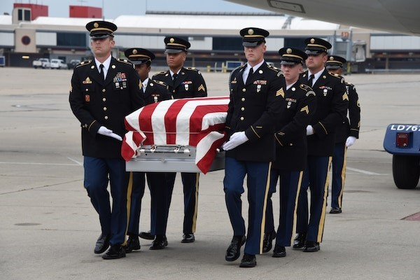 Pennsylvania Guard Helps Return Remains of Korean War Soldier