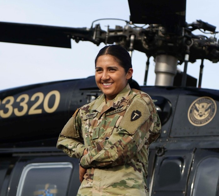 Guard Helicopter Pilot: 'The Sky Is Actually Not the Limit'
