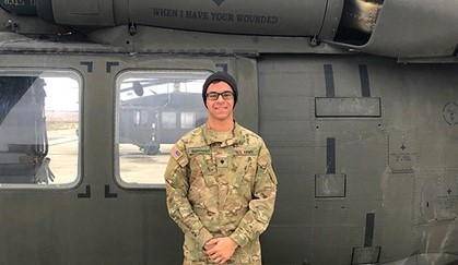 Paramedic Takes His Skills to the Skies as an Army National Guard Flight Medic