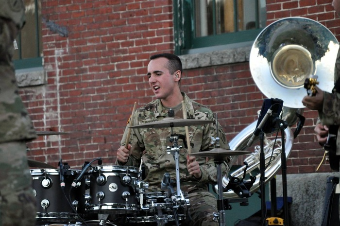 Guard Soldier Finds Best of Both Worlds in Music and the Military
