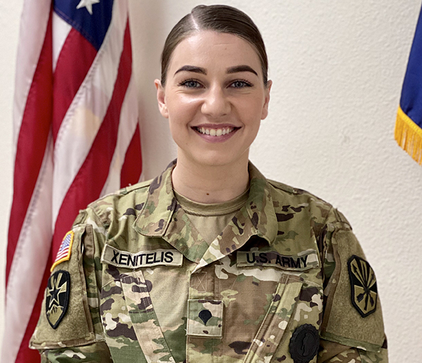 Dual Mission: Soldier Serves as Guard Intelligence Analyst and Recruiter