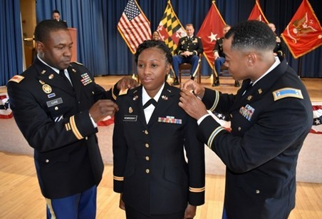 Maryland Army National Guard Member Wise Beyond Her Rank