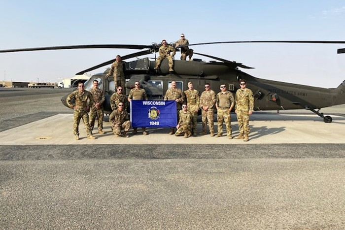Wisconsin Guard Medevac Unit Answers the Call in the Middle East