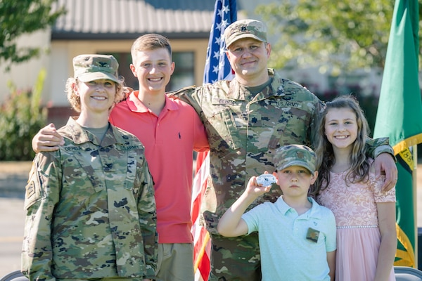 Joint Promotion Ceremony Special for Washington Guard Family
