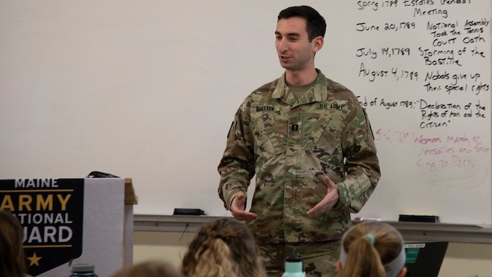 Guardsman is First Scholar in Residence at Army History Center